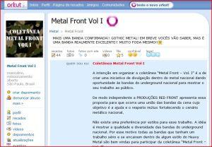 Orkut Metal Front